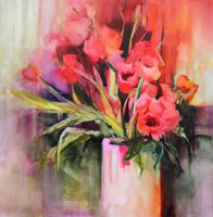 Paxton-Pink-Flowers-in-Vase-Oil-on-Linen106-x106cmW.jpg